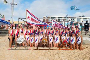 Maroubra Surf Life Saving Club March Past Team